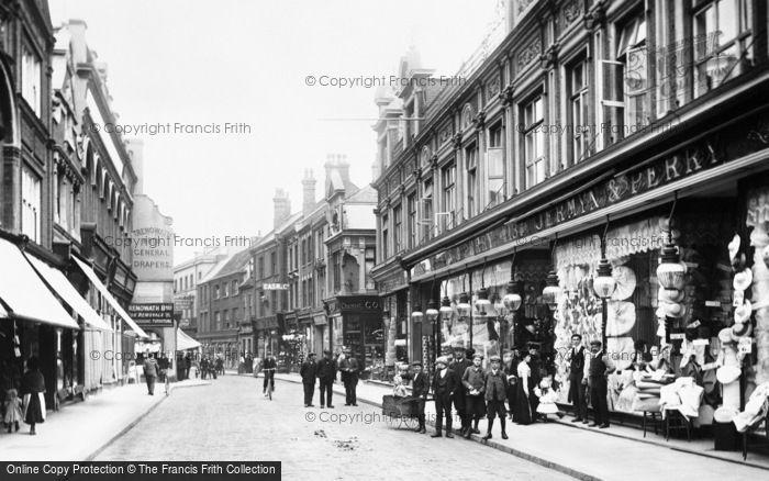 Photo of King's Lynn, High Street 1908