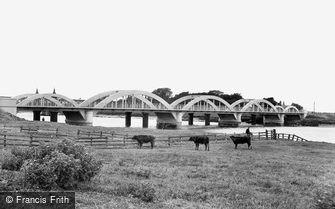 King's Lynn, River Bridge 1925