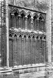 King's Lynn, St Margaret's Church, Base Of West Tower 1908