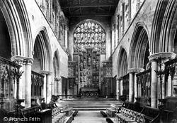 King's Lynn, St Margaret's Church Interior c.1900