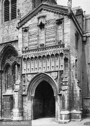 King's Lynn, St Nicholas's Chapel, South Porch 1891