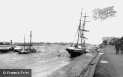 King's Lynn, The Quay 1898