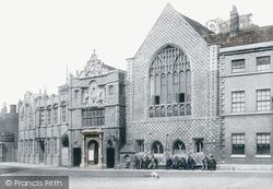 King's Lynn, The Town Hall 1898