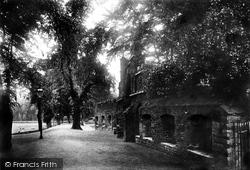 King's Lynn, The Walks, Old Town Wall 1891