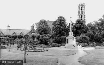 King's Lynn, Tower Gardens c1960