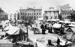 King's Lynn, Tuesday Market Place 1898