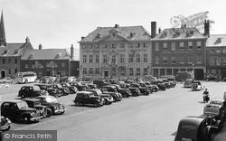 King's Lynn, Tuesday Market Place 1950
