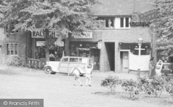 King's Norton, Bicycle Shop, The Village Green c.1955