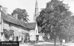 King's Norton, Cottages And The Saracen's Head 1937