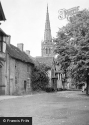 King's Norton, Old Saracen's Head And Church 1949