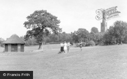 The Park c.1960, King's Norton