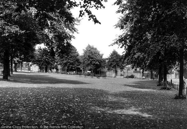 Photo of King's Norton, the Village Green c1955