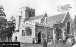 Kings Langley, All Saints Church c.1955