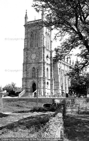 Photo of Kings Norton, the Church of St John the Baptist c1955