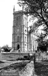 Kings Norton, The Church Of St John The Baptist c.1955