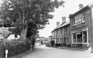 Kings Somborne, the Post Office c1965