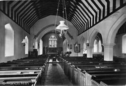 Kings Worthy, Church Interior 1912