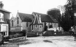 Kings Worthy, St Mary's Church 1912