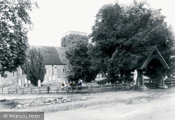 Kings Worthy, St Mary's Church And Lychgate 1912