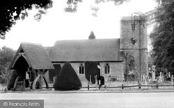 Kings Worthy, St Mary's Church c.1960