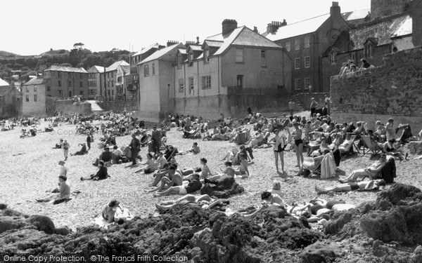 Photo of Kingsand, the Beach c1955, ref. k117006
