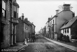 Kingsbridge, Fore Street 1890