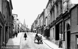 Kingsbridge, Fore Street 1896