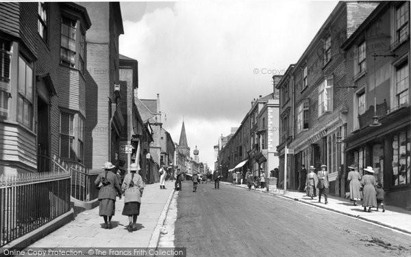 Photo of Kingsbridge, Fore Street 1918