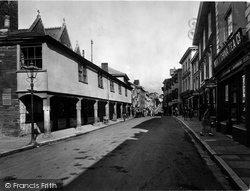 Kingsbridge, Fore Street 1924