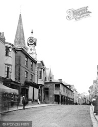 Kingsbridge, Fore Street And Butterwalk 1896