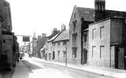 Kingsbridge, Fore Street and Grammar School 1895