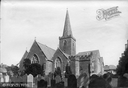 Kingsbridge, St Edmund King And Martyr Church 1890