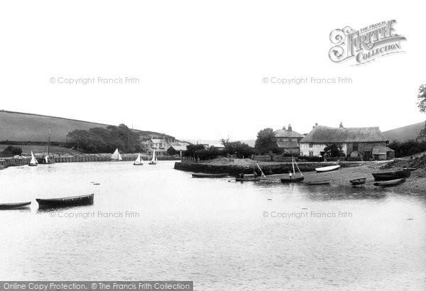 Photo of Kingsbridge, Tackett Wood Cottages 1896