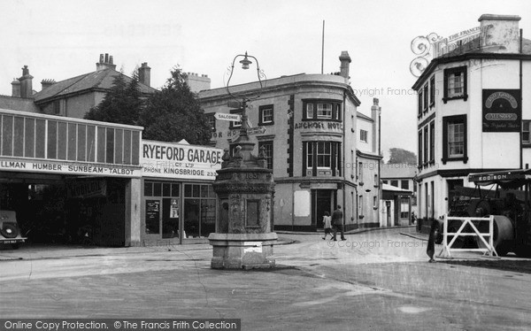 Photo of Kingsbridge, the Anchor Hotel c1950