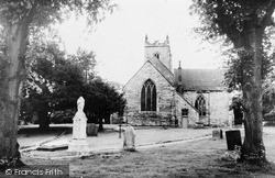 Kingsbury, Church Of St Peter And St Paul c.1955