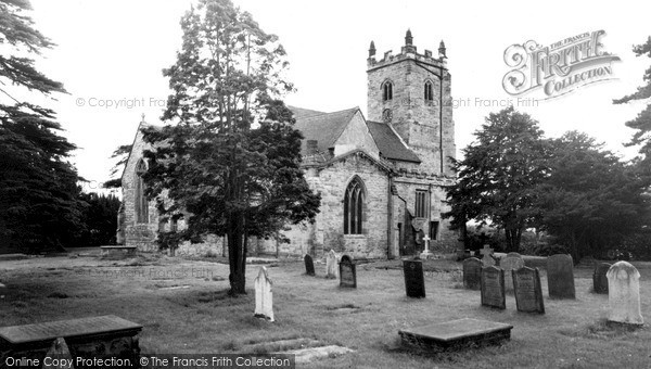 Photo of Kingsbury, Church Of St Peter And St Paul c.1955