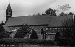 Holy Innocents Parish Church c.1955, Kingsbury