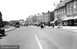 Kingsbury Road c.1955, Kingsbury