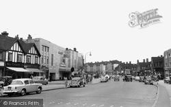 Kingsbury Road c.1960, Kingsbury