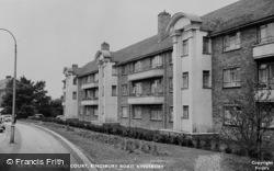 Kingsbury Road, Sutherland Court c.1960, Kingsbury
