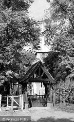 Lychgate, Old St Andrew's Church c.1950, Kingsbury