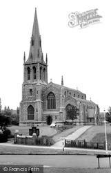 St Andrew's Church, Church Lane c.1965, Kingsbury