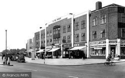 Station Parade, Kingsbury Road c.1950, Kingsbury