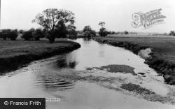 Kingsbury, The River c.1955