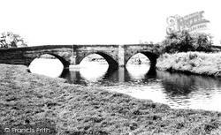 Kingsbury, The River Tame c.1955