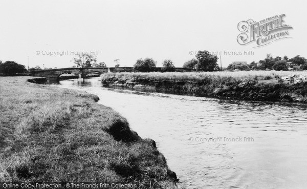 Photo of Kingsbury, The River Tame c.1955