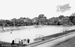 The Swimming Pool c.1965, Kingsbury