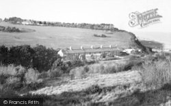 Coast Guard Cottages And Scout Camp Headquarters c.1965, Kingsdown
