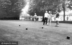 Holiday Camp, Bowling Green c.1965, Kingsdown