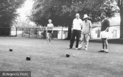 Holiday Camp, Playing Bowls c.1965, Kingsdown